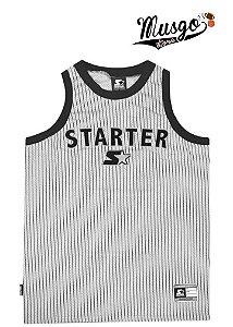 Camiseta Regata Starter Black Label Stripes