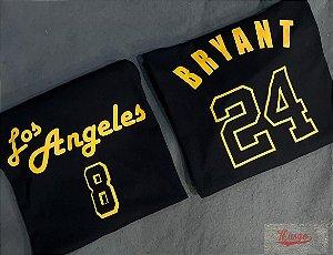 Camisa Musgo Esporte Basquete Los Angeles Kobe Bryant Edição Black Mamba Classic Preta