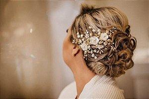 Arranjo de flores madrepérola para noivas
