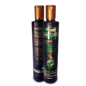 Kit Shampoo e Condicionador de Mamona c/ Argan
