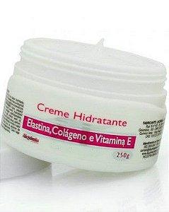 Creme Hidratante Elastina, Colágeno e Vitamina E