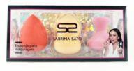Kit de Esponja para Maquiagem Sabrina Sato SS