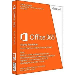 MICROSOFT OFFICE 365 HOME – 5 LICENÇAS (PC, MAC, ANDROID OU IOS) + 5 TB DE HD VIRTUAL – ESD ( primeira ativação não é para renovação )