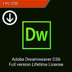 Adobe Dreamweaver CS6 Full ESD - Download