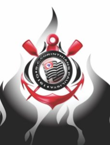 Avental Churrasco Corinthians