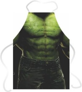 Avental Divertido Hulk