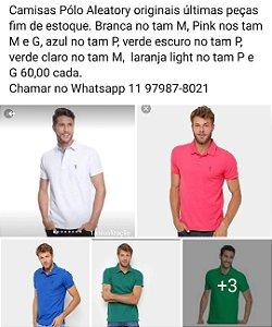 Camisas Pólo Aleatory