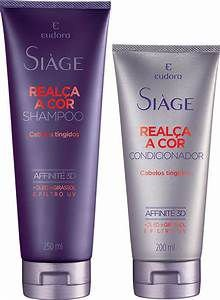 Kit Realça cor shampoo + condiconador