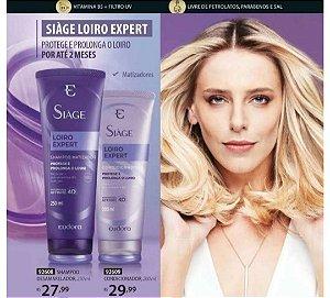 Siàge Loiro Expert Shampoo e Condicionador