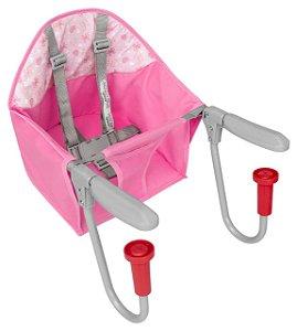 Cadeira para Refeição Alimentação Portátil para Bebê Rosa - Tutti Baby