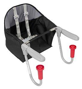 Cadeira para Refeição Alimentação Portátil para Bebê Preta - Tutti Baby