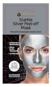 Kit 3 Unids Máscara Facial Starkle Peel-off De Prata - Skinlite