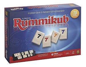Jogo de Tabuleiro e Estrategia Rummikub - Grow