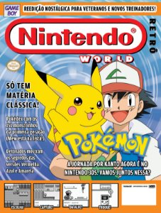 Nintendo Retrô 01 [Pokémon Red & Blue & Yellow]