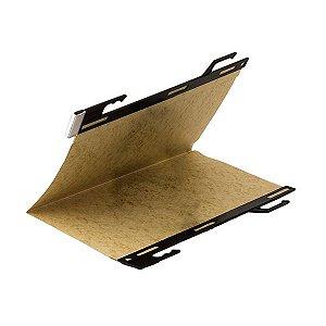 Pasta pendular papéis soltos, 235mm altura, cartão timbó 350g, sem grampo - 25 un