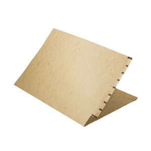 Pasta dígito-terminal 250 x 345mm, cartão timbó 350g, com grampo metálico - 100 un