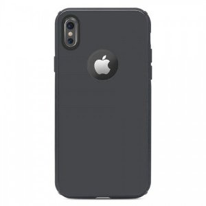 Capa Antichoque Glass Case Space Gray - iPhone X