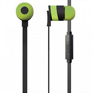 Fone de Ouvido Intra Auricular Easy Verde - iWill