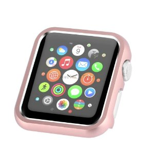 Bumper de Alumínio Apple Watch 38mm - Rosé