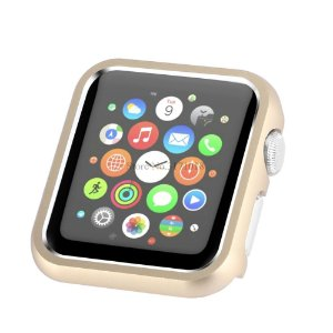 Bumper de Alumínio Apple Watch 38mm - Dourado