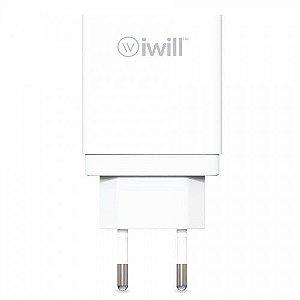 Carregador de parede 3 USB - iWill