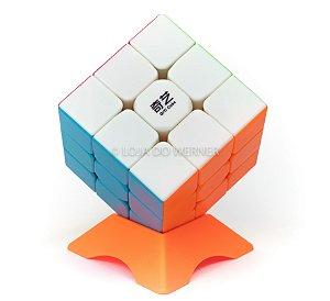 Cubo Mágico Profissional QiYi stickless 3x3x3