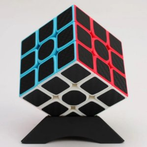 Cubo Mágico Profissional Zcube stickless 3x3x3