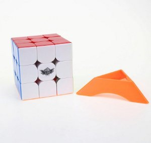 Cubo Mágico Magnético Feijue Profissional 3x3 Cyclone Boys