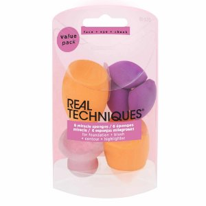 Real Techniques -  Kit de Esponjas Miracle