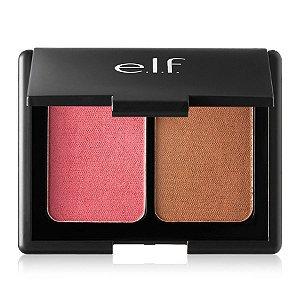 Elf - Aqua Beauty Blush & Bronzer - Bronzed Pink Beige
