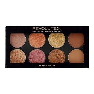 Makeup Revolution  - Revolution Ultra Palette Golden Sugar 2 - Blush, Bronze & Highlight