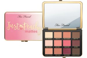 Too Faced - Paleta Just Peachy Mattes