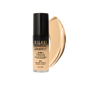 Milani - Base + Corretivo - Perfect 2-In-1 - 01- Creamy Vanilla