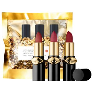 Pat McGrath Labs - LUST: Mini MatteTrance Lipstick Trio - Skin Show - omi, 1995, flesh 3