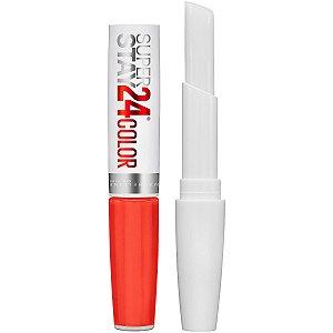Maybelline - SuperStay 24 2-Step Liquid Lipstick - Non-Stop Orange