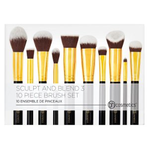 Bh Cosmetics - 10 Piece Brush Set - Sculpt and Blend 3
