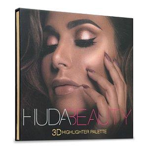 Huda - Paleta De Iluminadores 3D - Golden Sands