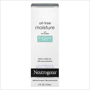 Neutrogena - Oil-Free Moisture Lotion Fps15 - 118Ml