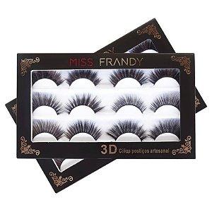 Miss Frandy - Cílios Postiços 3D - KIT 6 - C17-04100