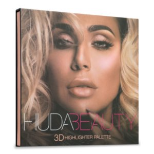 Huda - Paleta 3D Highlighter  - Pink Sands