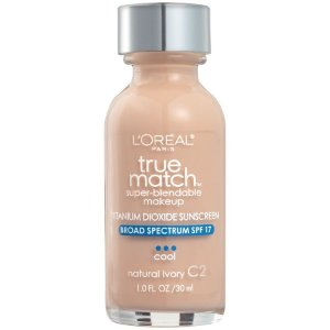 L'Oreal -  Base True Match Super-Blendable - Natural Ivory C2
