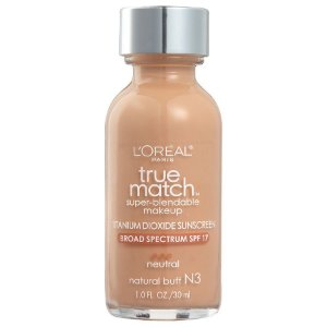 L'oreal -  Base True Match Super-Blendable - Natural Buff N3