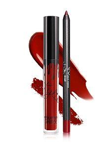 Kylie Cosmetics - Batom E Lápis Matte - Bite Me