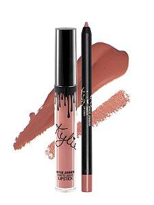 Kylie Cosmetics - Batom E Lápis Matte - Koko K