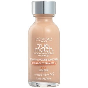 L'Oreal -  Base True Match Super-Blendable - Classic Ivory N2