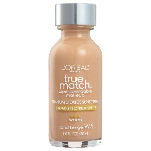 L'Oreal -  Base True Match Super-Blendable - Sand Beige W5