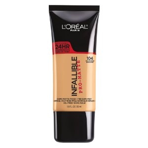 L'Oreal - Base Infallible Pro-Matte - Golden Beige 104