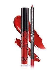 Kylie Cosmetics - Batom E Lápis Matte - Boss
