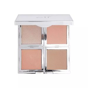 Elf - Paleta Natural Glow Face - Fresh & Flawless - Blush, Bronze e Iluminador