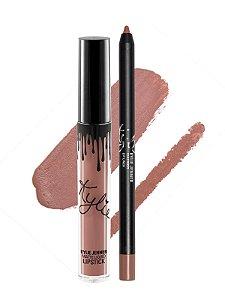 Kylie Cosmetics - Batom E Lápis Matte - Maliboo